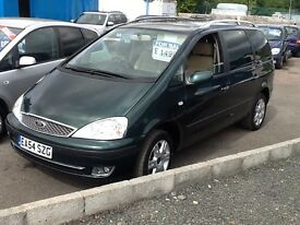 FORD GALAXY --7 SEATER--1.9L DIESEL--FULLY LOADED