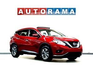 2015 Nissan Murano SL NAVIGATION LEATHER SUNROOF AWD BACKUP CAM