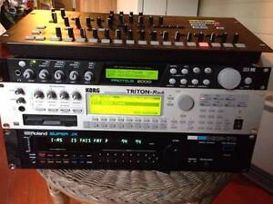 Synths Rack Mountable Thirroul Wollongong Area Preview