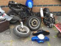 scooter parts /quad