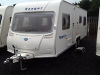 2008 Bailey ranger 620 fixed bed 6 berth twin axel