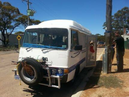 Toyota Coaster Bus/ Camper Hoppers Crossing Wyndham Area Preview