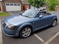 STUNNING LOOKING 2004 AUDI TT 1.8 TURBO FULL BLACK LEATHER 2 X KEYS SERVICE HISTORY