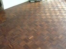 Approx 15 sq metres / 11 bags parquet flooring