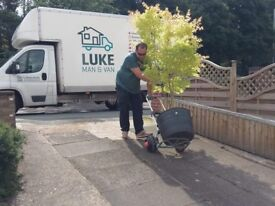 Professional house removals / man and van / single item delivery / Free Quote from Luke Man & Van
