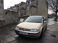 Volkswagen Golf 1.6 Petrol 120K miles on clock