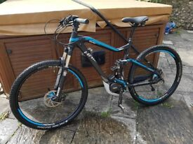 Electric Mountain Bike sDuro Full Nine RC 29 Haibike great condition