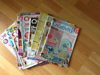 Card making magazines all in good condition