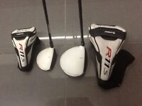 TAYLOR MADE R11s DRIVER AND TAYLOR MADE R11s THREE WOOD.