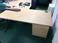Office Desks and Chairs and Smart Boards available.
