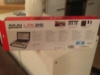 AKAI LPK 25' key midiplayer