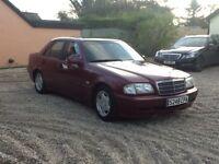 Mercedes C200 Esprit Automatic 4 door saloon 1998