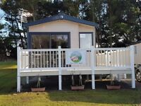 Deluxe caravan for hire at Seton Sands holiday park. 3 bedroom pet friendly.