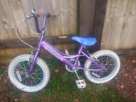 Dawes princess bike, 16 inch