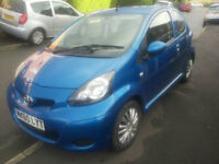 60 plate Toyota Aygo 998cc engine so only £20 to tax