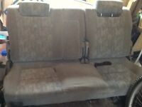 VW T4 rear seats, split seat to include all fitments and seat belts