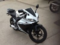 yamaha yzf r125 r 125 yzfr125 cbr 125 cbr125 rs125 rs 125 px welcome can deliver