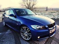 BMW 320D M SPORT *LE MANS BLUE* 335D KITTED!! LIKE GOLF LEON 330D A3 A4 JETTA PASSAT FOCUS