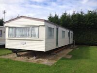 family sized static caravan for sale on quiet family run site close to beach