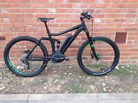 Cube Stereo Hybrid Electric Bike E-Bike Full Suspension Mountain Bike