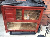 2 story rabbit hutch for sale