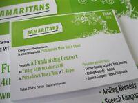 Fundraising Concert in aid of Craigavon Samaritans 14.10.16 @ 7.45pm Portadown Town Hall