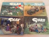 Giles cartoon comic books
