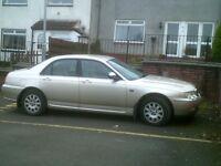 Rover 75 Automatic 2.5 petrol . No mot . £450.00