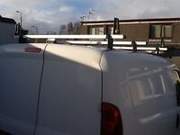 Unit-Bar three section Van roof rack. Ideal for fiat doblo or Vauxhall combo