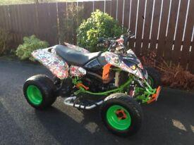 2004 Polaris Predator 500cc Road Legal Quad px swap for hayabusa
