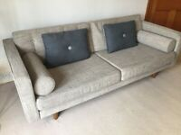 Grey sofa (3 seater)