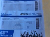 2 Script tickets Aberdeen Feb 17th