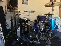 Sonor Force 3007 plus zilidjian cymbals