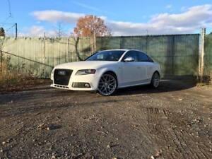 2012 Audi S4 Premium 3.0t sc diff sport cuir rouge 85km carbone