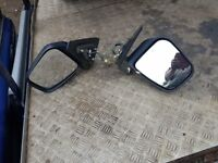 Mitsubishi Shogun Pinin Right and left Door Mirrors