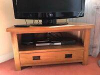Oak Furniture Land corner TV unit