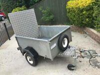 Foxhunter trailer + ramp & spare wheel