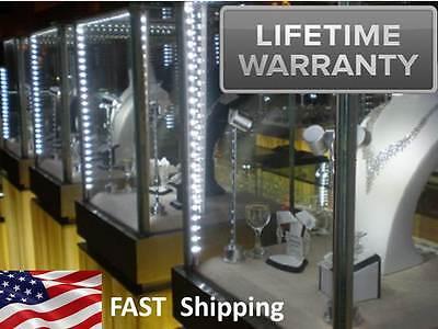 Jewelry Showcase Lighting 4ft Kit - Antique Glass Showcase Upgrade Lighting Kit