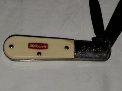 Vintage colonial prov.USA.mellocraft advertising Barlow pocket knife