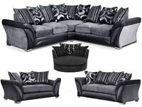 BARGAIN PRICE!!! LUXURY CORNER OR 3+2 SHANNON SOFA DFS MODEL!! 12 MTHS WARRANTY!