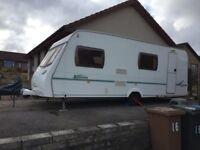 2005 Lunar Zenith Six 6-berth caravan for sale, £4500