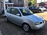 Seat Arosa 1ltr low miles covered only 66k 12months mot and fully serviced HPI clear Ideal first car