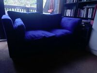 FREE 2 x comfy sofas with loose canvas covers