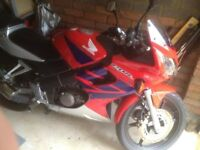 Honda CBR 125R 55Reg NEW MOT