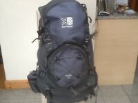 Large 50litre upto 90litre rucksacks :3are new/unused and most are lightly used-from £30 to £45each