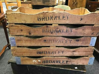 Set of 5 Bronnley Soap Factory Industrial Soap Display Trays Retail TV Film Prop