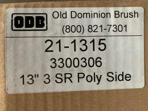 """Sweeper Scrubber Brush - New in Box ODB Model 21-1215 3300306 13"""" 3 SR POLY SIDE"""