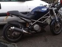 2002 Ducati Monster M620s swap part ex van bike mx
