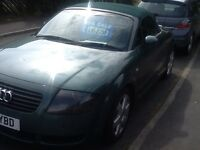 Audi TT 225 Quattro convertible * bam engine*