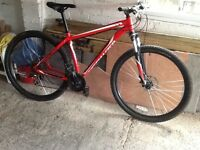 2015 model Specialized hard tail 29er mountain bike. 24 gears,disk brakes, in good condition .